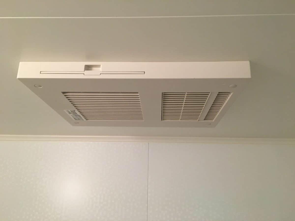 浴室暖房換気乾燥機 北九州での取り付けはスリーエイチ デンキ
